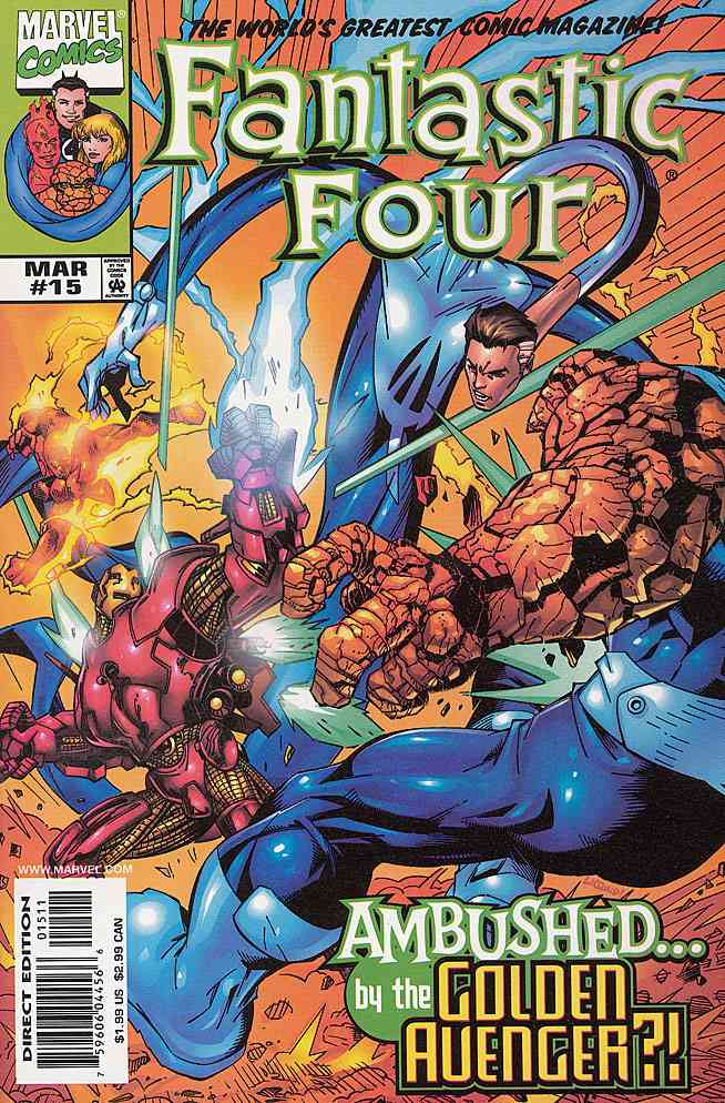 Fantastic Four (Vol. 3) comic issue 15